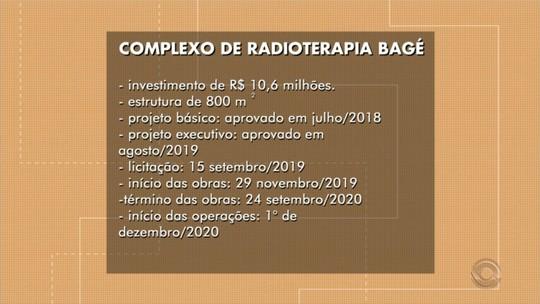 Projeto que viabiliza tratamento contra o câncer vai ser executado em Bagé