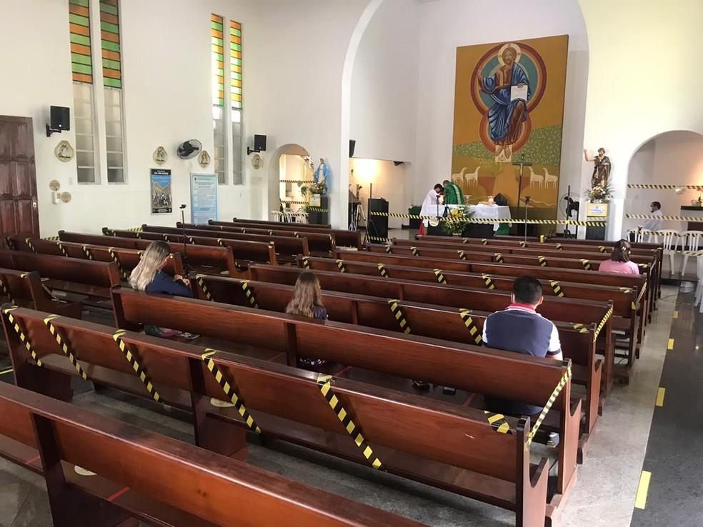 Após novo decreto no RN, Arquidiocese autoriza missas com 20% da capacidade nas igrejas | Rio Grande do Norte | G1