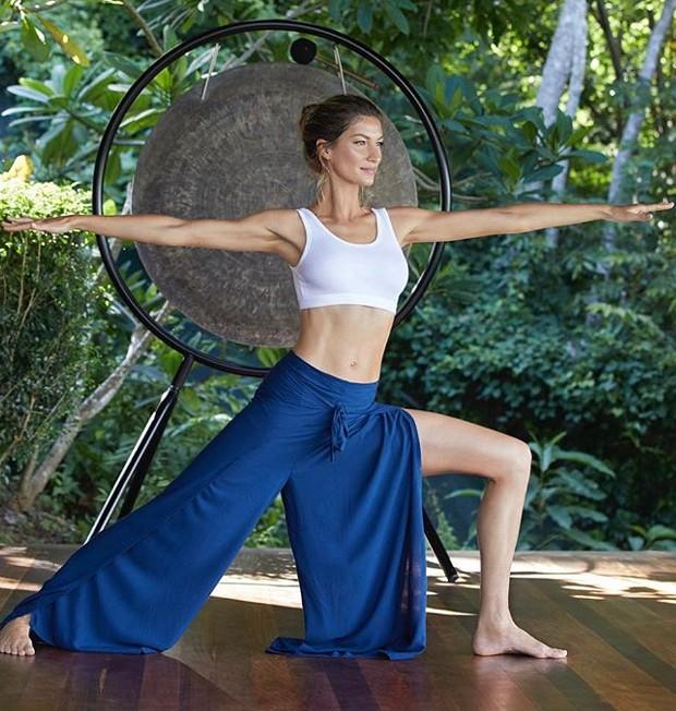 Gisele Bündchen revela que a yoga ajudou-a a se curar de sintomas depressivos (Foto: Instagram/ Reprodução)