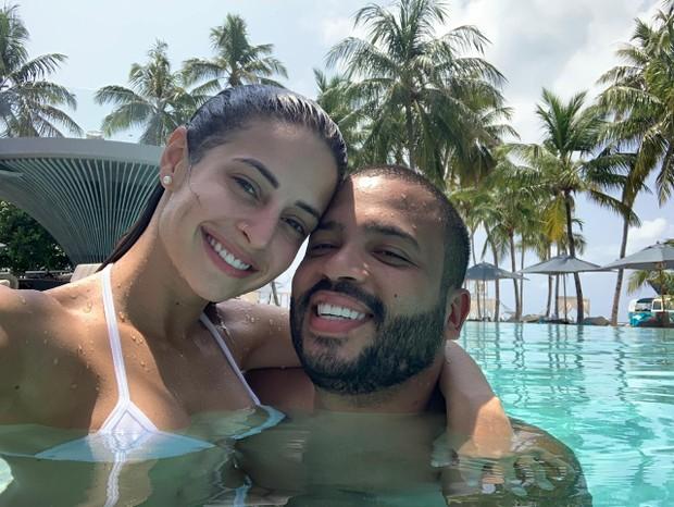 Projota e Tamy Contro (Foto: Divulgação)