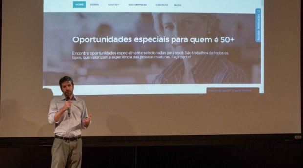 Mórris Litvak, fundador da Maturi Jobs, plataforma de emprego para pessoas mais velhas (Foto: Divulgação)