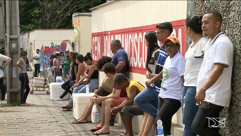 Mais de 20% dos inscritos no ENEM faltaram no 1º dia de prova no Maranhão — Foto: Reprodução/TV Mirante