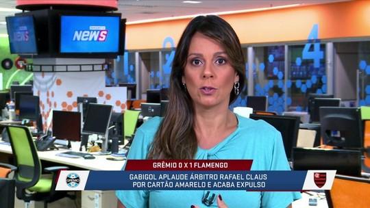 """Fabíola Andrade diz que 23 anos é idade bem """"adulta"""" para Gabigol ser considerado """"garoto"""""""
