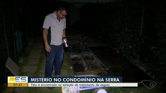 Feto é encontrado em esgoto de condomínio na Serra, ES
