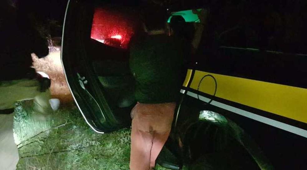 Empresário foi preso pela PRF por exploração sexual de adolescente — Foto: PRF/Divulgação