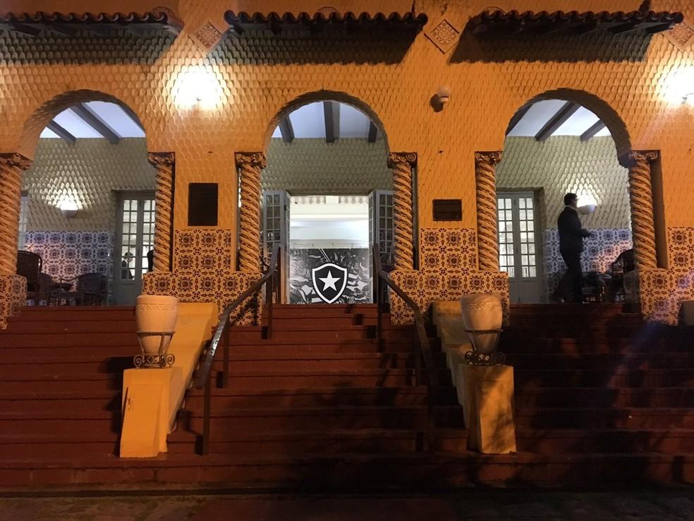 General Severiano, sede do Botafogo — Foto: Fred Gomes