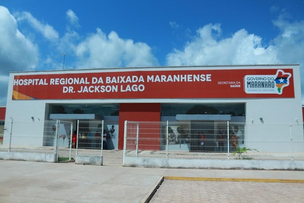 Hospital Regional da Baixada Maranhense Dr. Jackson Lago receberá 10 novos leitos de UTI, segundo o Ministério da Saúde — Foto: Divulgação/SES