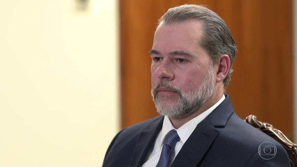 Dias Toffoli manda a Lava Jato enviar dados de investigações à PGR — Foto: Rede Globo