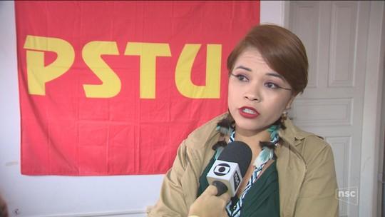 PSTU confirma candidatura de Ingrid Assis ao governo de SC