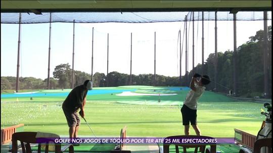 Das atividades mais populares do Japão, o golfe pode ter até 25 mil espectadores em Tóquio-2020