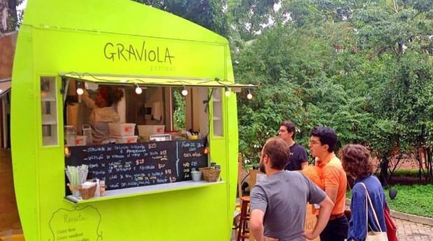 Food truck onde a Casa Graviola nasceu (Foto: Divulgação)