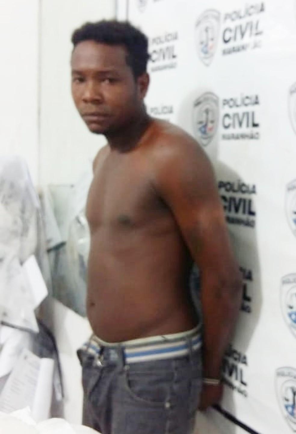 José da Paixão foi encaminhado para a Delegacia Regional de Itapecuru Mirim — Foto: Divulgação/Polícia