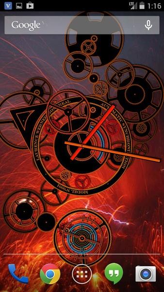 Hypno Clock Live Wallpaper   Download   TechTudo
