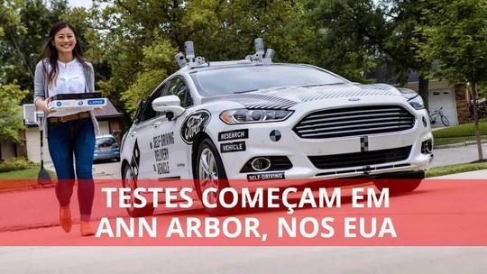 Ford faz parceria com rival do Uber para 'popularizar' carro autônomo