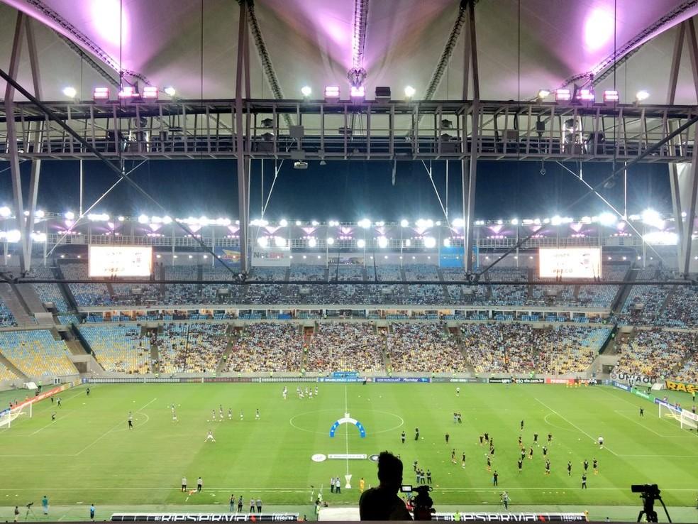 Semifinal no Maracanã entre Vasco e Resende pode ser adiada — Foto: André Durão / GloboEsporte.com