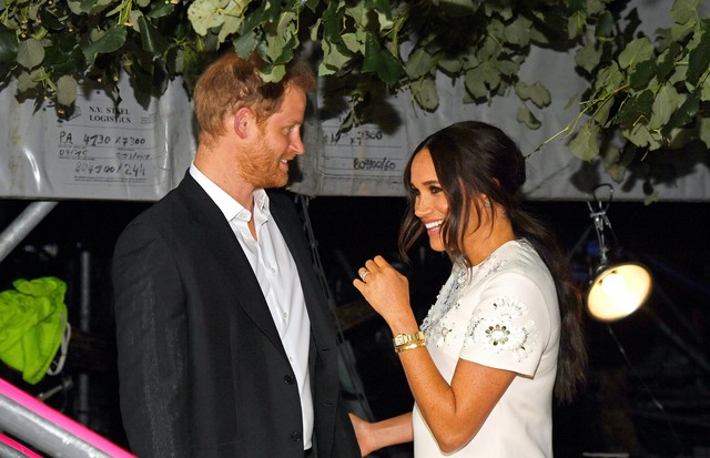 NEW YORK, NEW YORK - SEPTEMBER 25: Prince Harry, Duke of Sussex and Meghan, Duchess of Sussex attend Global Citizen Live, New York on September 25, 2021 in New York City. (Photo by Kevin Mazur/Getty Images for Global Citizen ) (Foto: Getty Images for Global Citizen)