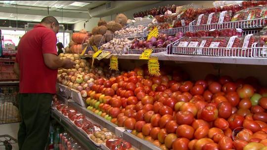 Alimentos e transporte puxam alta da inflação em março
