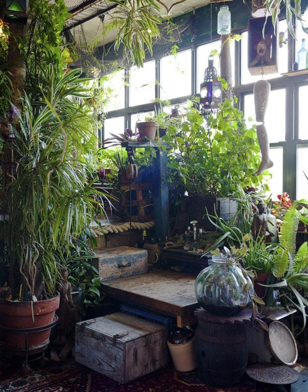 10 ideias contemporâneas para usar plantas na decoração (Foto: Trevor Trondo/ The New York Times )