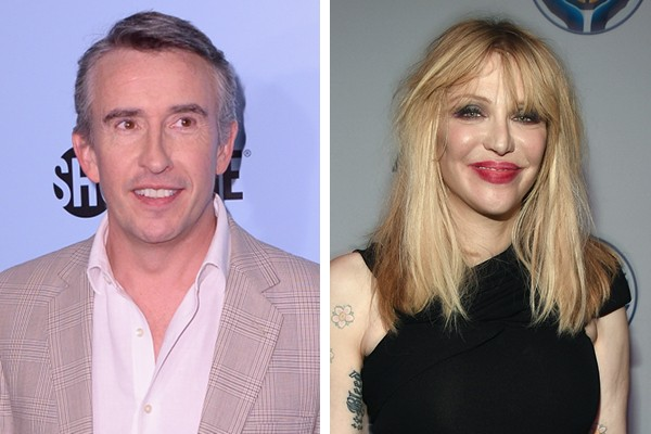 Steve Coogan e Courtney Love (Foto: Getty Images)