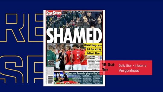 Hristo Stoichkov chora em programa de TV ao falar sobre racismo em jogo com a Inglaterra