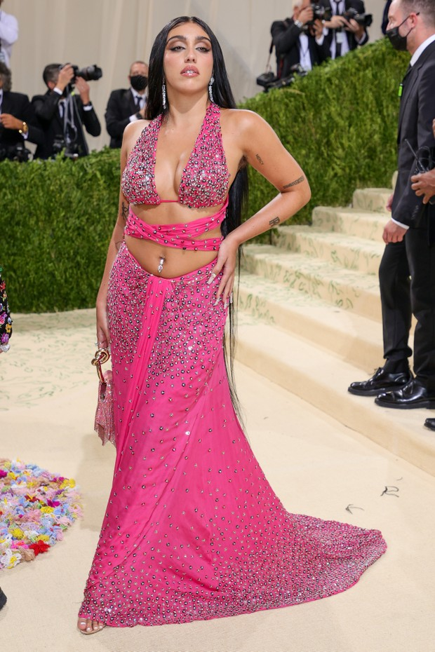 NEW YORK, NEW YORK - SEPTEMBER 13: Lourdes Leon attends The 2021 Met Gala Celebrating In America: A Lexicon Of Fashion at Metropolitan Museum of Art on September 13, 2021 in New York City. (Photo by Theo Wargo/Getty Images) (Foto: Getty Images)