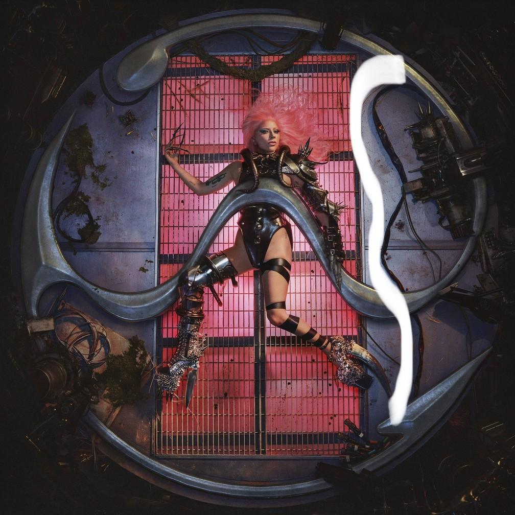 A capa do álbum 'Chromatica', de Lady Gaga — Foto: Divulgação