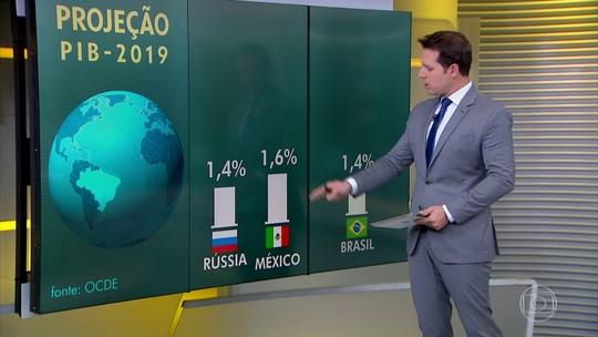 Organização volta a reduzir previsão de crescimento para a economia brasileira