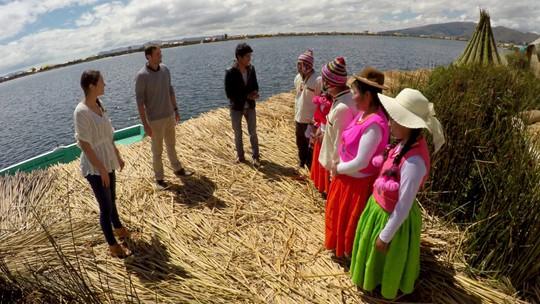 América do Sul Sobre Rodas: Titicaca