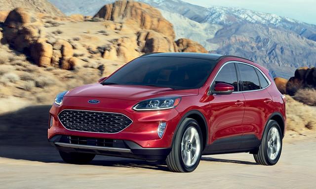 Ford Escape - O design arredondado e suave foi inspirado nas  linhas do novo Focus (Foto: Divulgação)
