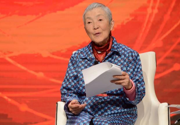 A programadora Masako Wakamiya. Ela virou programadora aos 80 anos (Foto: Divulgação/Mastercard)