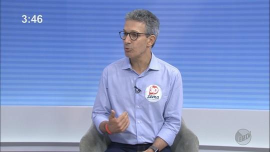Romeu Zema diz que vai priorizar a Saúde e rever contratos com 'vícios' em entrevista ao EPTV 1