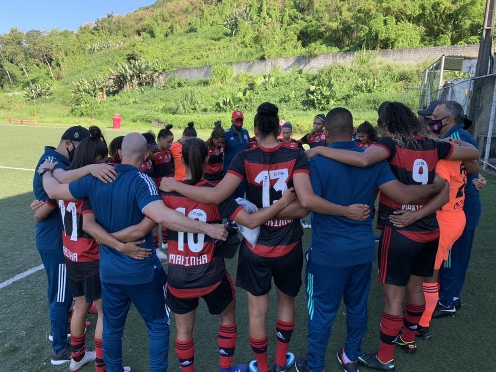 Feminino: Flamengo vence o Vitória com gol de Rafa Barros pelo Brasileirão