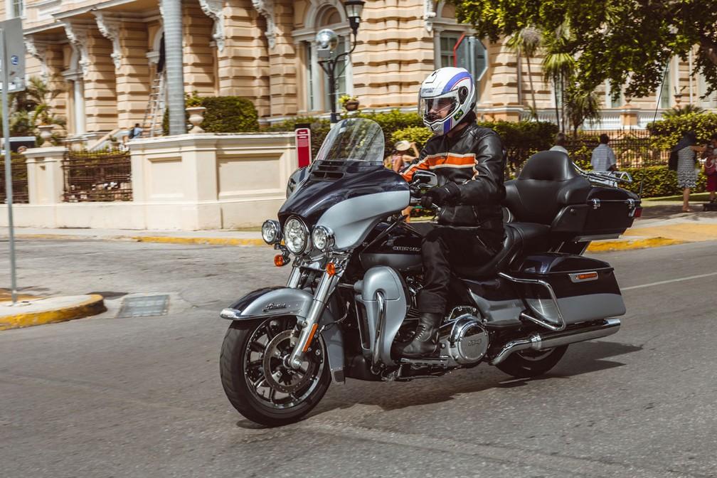 Harley-Davidson Ultra Limited — Foto: Harley-Davidson/Divulgação