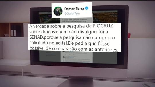 Levantamento da Fiocruz sobre o uso de drogas é censurado pelo Ministério da Justiça
