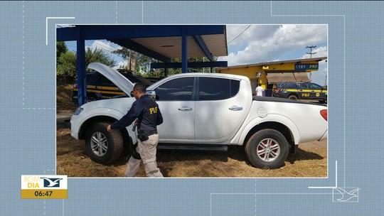 Veículo roubado em Minas Gerais é recuperado no Maranhão