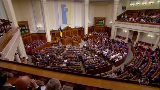 Novo presidente da Ucrânia dissolve parlamento e convoca novas eleições legislativas