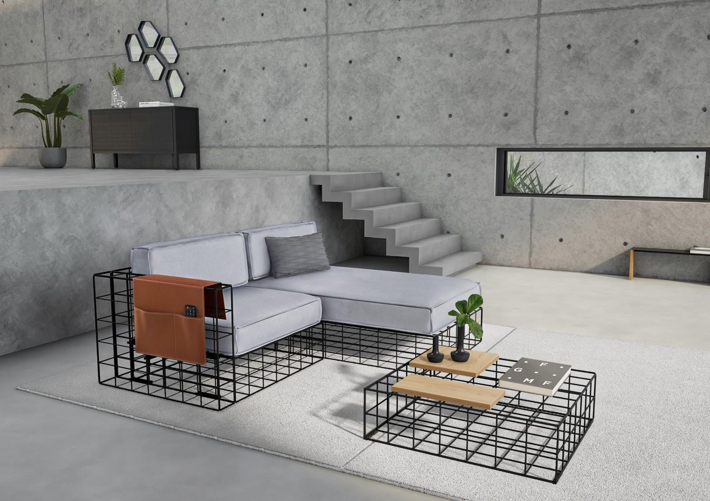 Arquitetura e construção civil inspiram nova coleção de móveis e objetos (Foto: Divulgação/Tok&Stok)