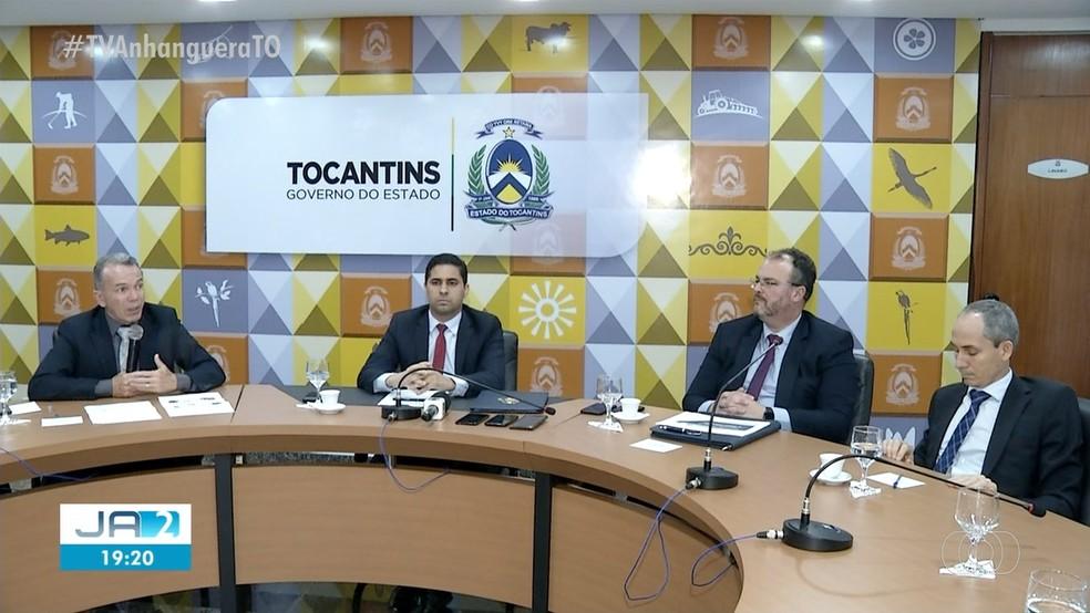 Equipe confirmou que contas do governo vão fechar no vermelho — Foto: Reprodução/TV Anhanguera