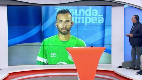 Autor dos dois gols da Chapecoense,  Leandro Pereira diz que é necessário vencer em casa para fugir do Z-4