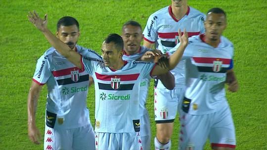 Com mudanças no ataque, Londrina finaliza pouco e perde para o Botafogo-SP; veja as notas