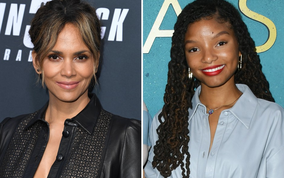 Halle Berry e Halle Bailey (Foto: Getty Images)