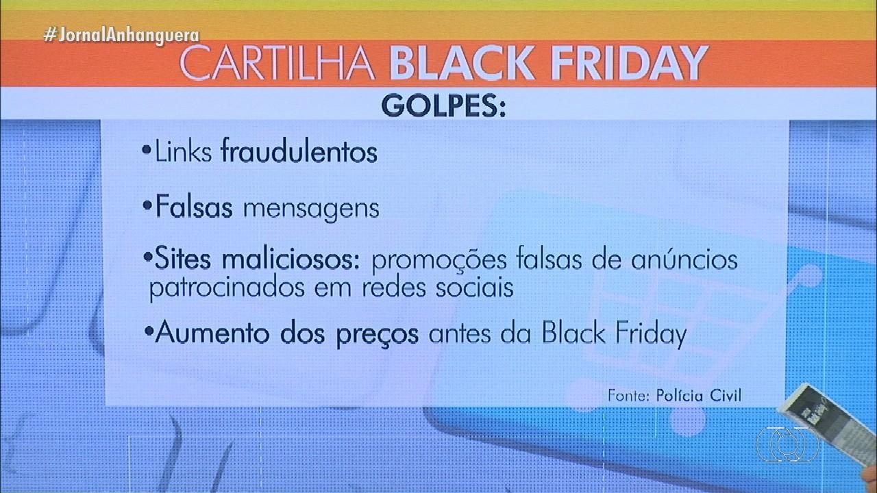 Polícia cria cartilha com dicas para evitar golpes e fraudes durante a Black Friday