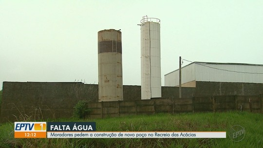 Moradores enfrentam racionamento em bairro de chácaras em Ribeirão Preto, SP