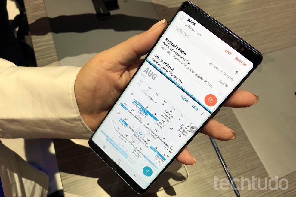 Galaxy Note 8 estará disponível a partir de setembro; preço não foi revelado (Foto: Thássius Veloso/TechTudo)