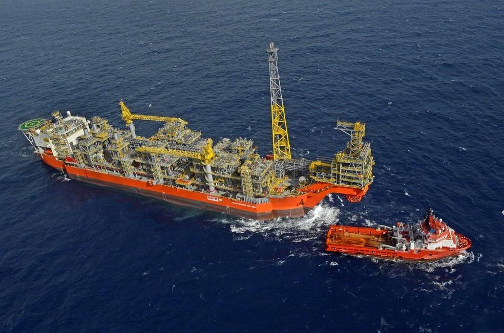 Petrobras inicia produção no bloco de Libra com a entrada em operação da plataforma FPSO Pioneiro de Libra (Foto: Divulgação)