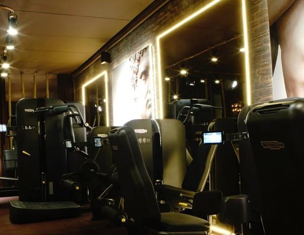Academia Les Cinq Gym Powered by Technogym  (Foto: THIAGO TEIXEIRA)