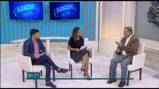 G1 entrevista candidato ao governo do Pará Márcio Miranda. Confira