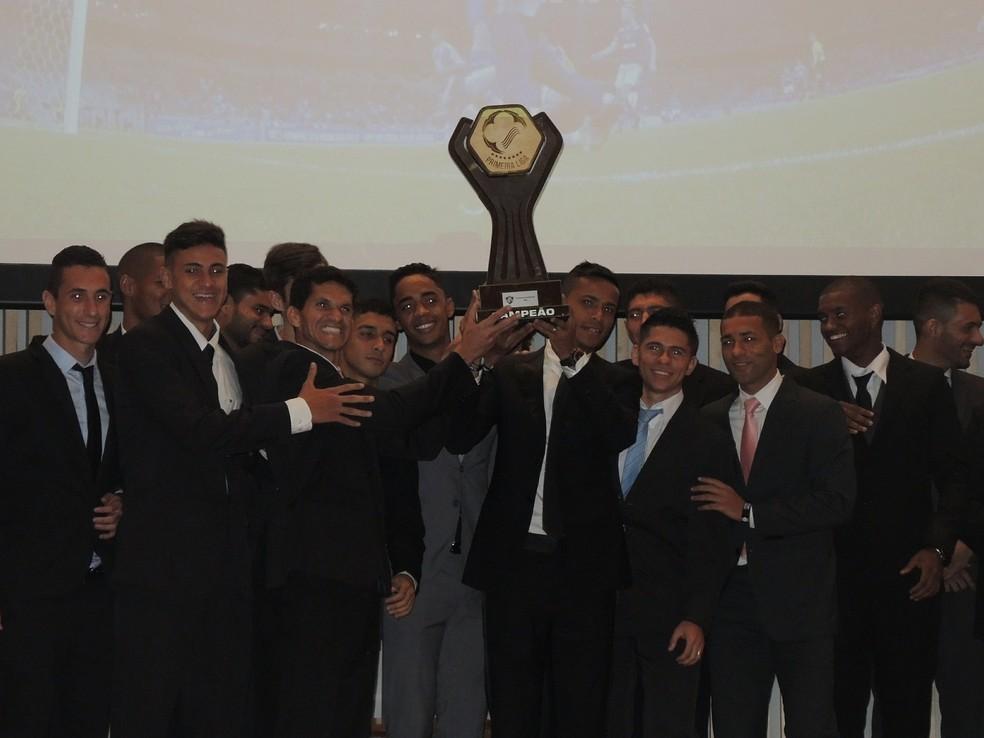 Fluminense foi o primeiro campeão da Primeira Liga (Foto: Fred Huber)