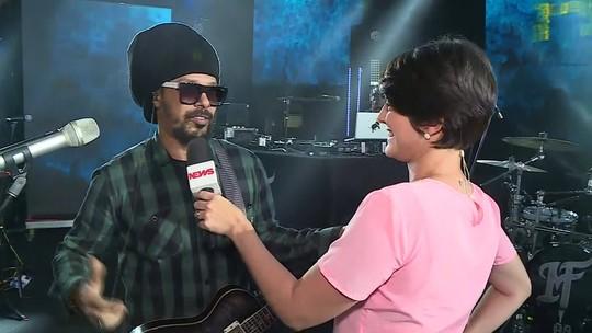 Marcelo Falcão estreia turnê solo em Pernambuco após um ano do fim da banda O Rappa