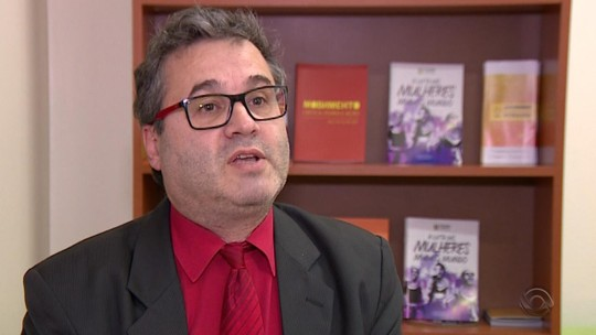 Roberto Robaina é entrevistado no Jornal do Almoço